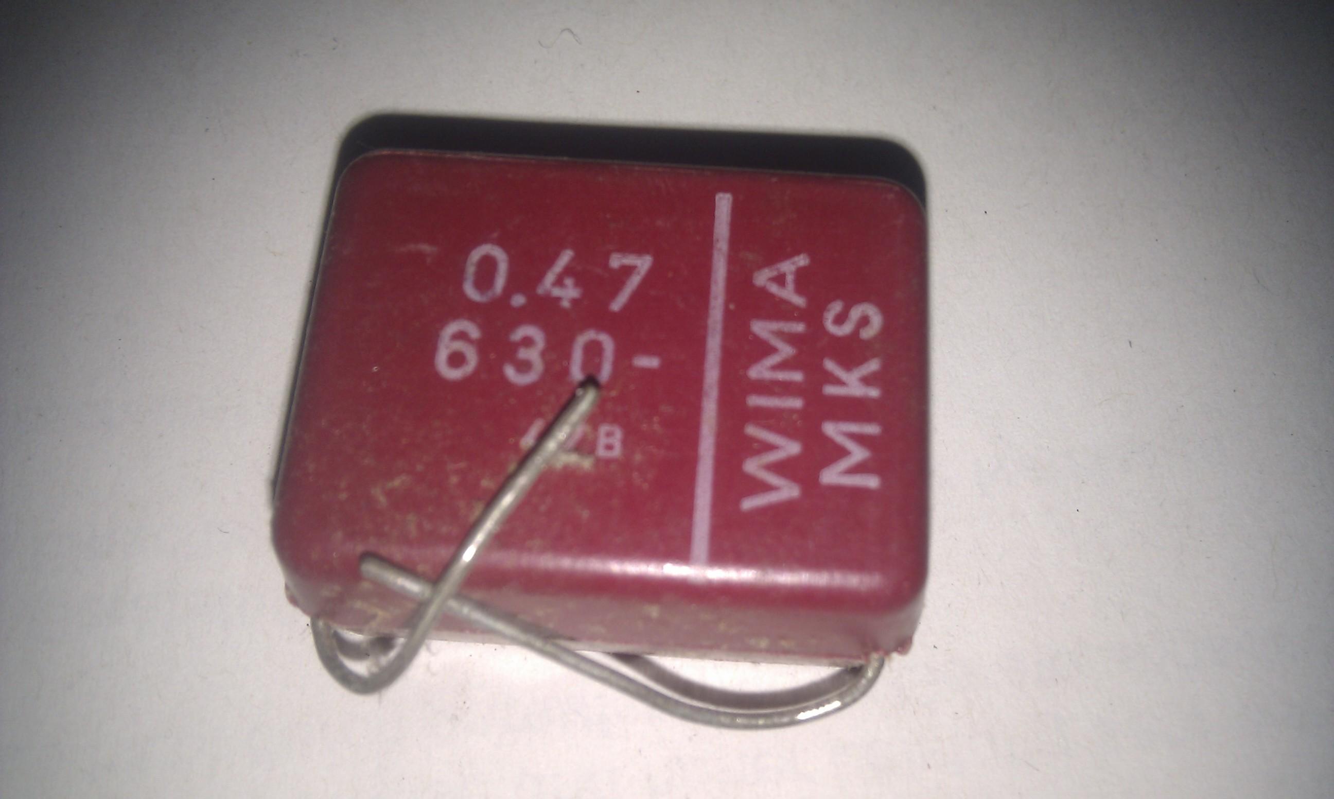 WIMA MKS 0,47uf